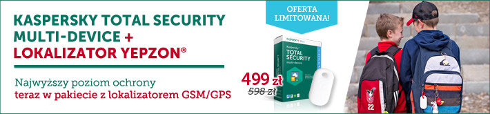 Kaspersky Total Security + lokalizator Yepzon